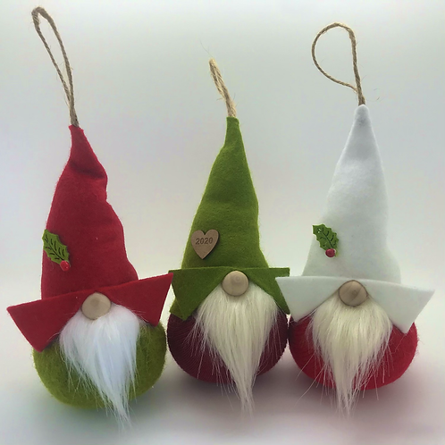 Red/Olive Green Christmas Gnorbits