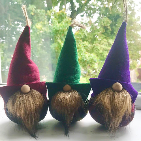 Tartan brown beard Gnorbits