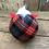 Thumbnail: Red/grey/black tartan Gnorbits
