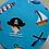 Thumbnail: Pirate Gnorbit - skull & crossbones