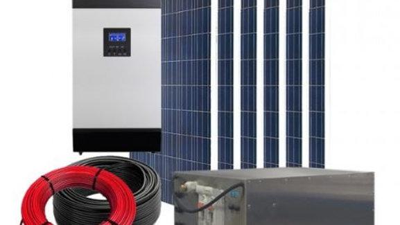 Kit hybride compact de 4 kWh
