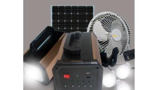 Boitier solaire avec ventilateur