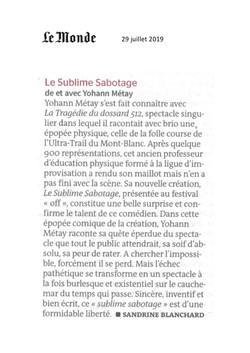 Le Monde 29.07.19