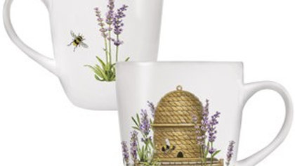 Bee Hive & Lavender 16 oz. Mug