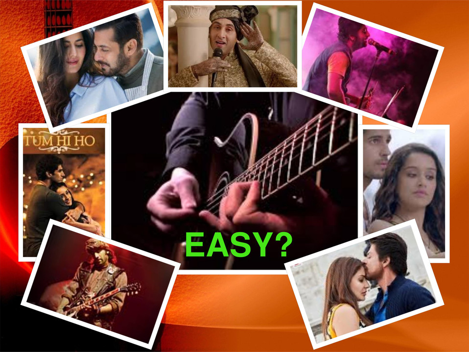 Hindi Film (Bollywood) Songs On Guitar, Is It Easy or Super Easy ?