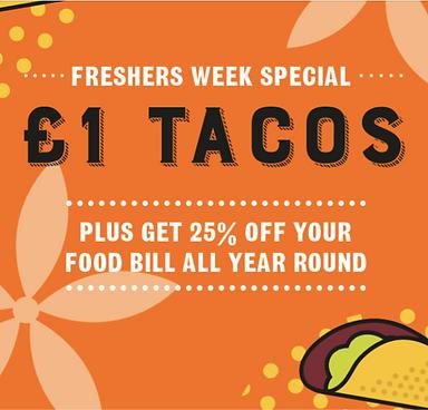 £1 Tacos at Chiquitos all week!