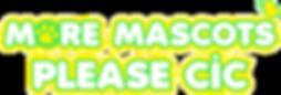 More Mascots Please CIC Job Vacancy
