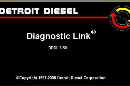 Detroit Diesel Diagnostic Link DDDL 6.50
