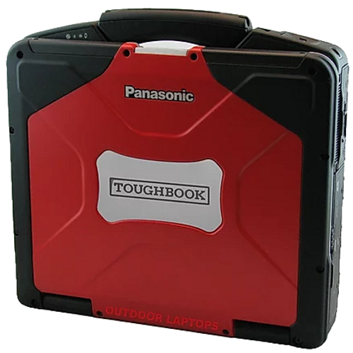 Panasonic Toughbook Red