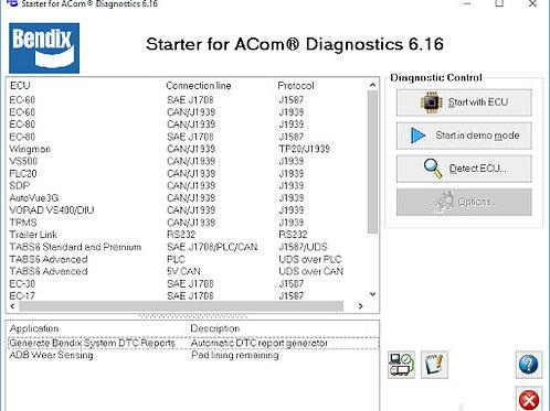Bendix ACom Diagnostics v6.16