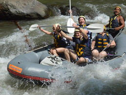 Ayung River Rafting, For the Strong!