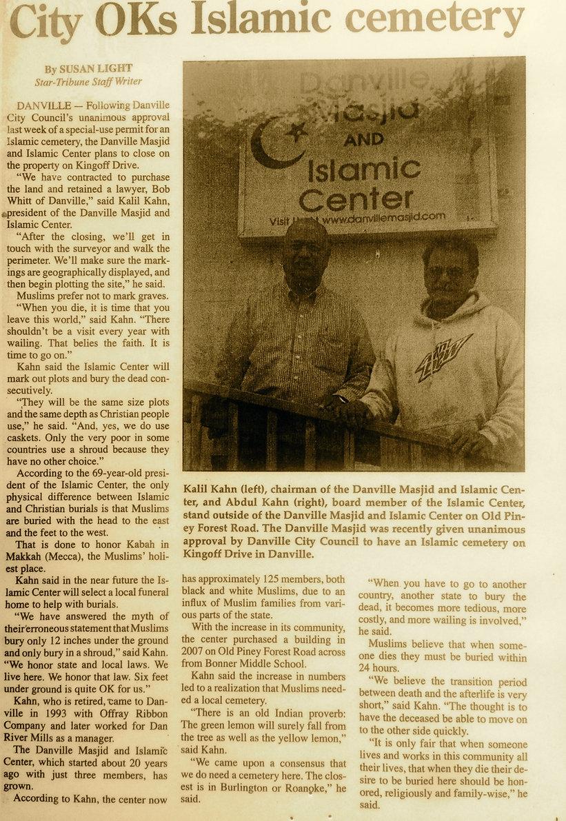 Islamic Cemetery