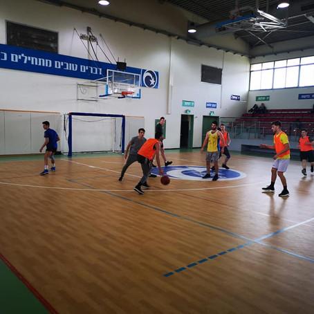 יום ספורט לתלמידי עמי אסף ותלמידי בית ספר ירקון