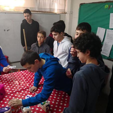 שבוע החינוך בעמי אסף - פעילות עם הגרעינרים