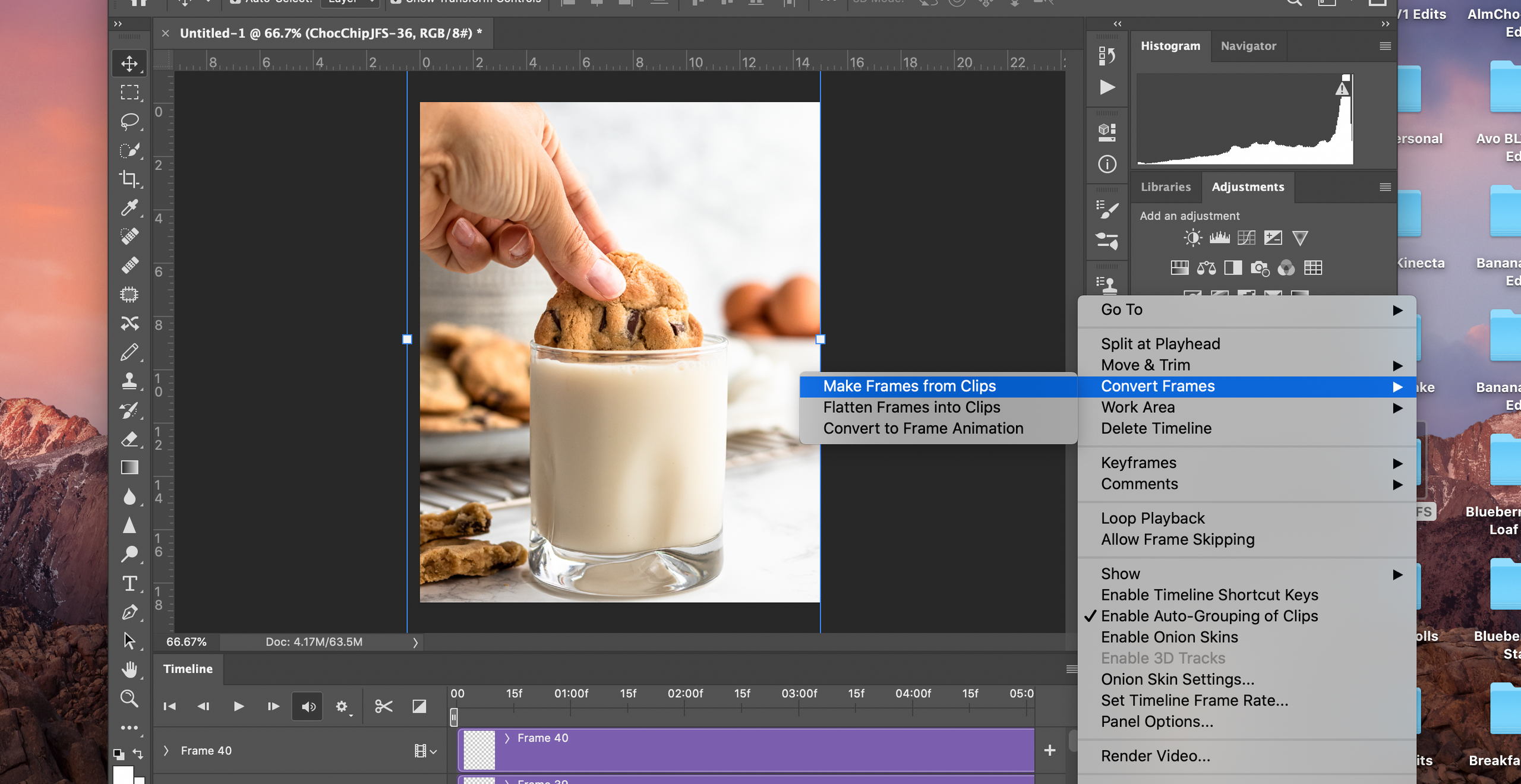 Photoshop tutorial for stop motion video with Photoshop