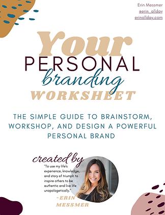 Your Personal Branding Worksheet