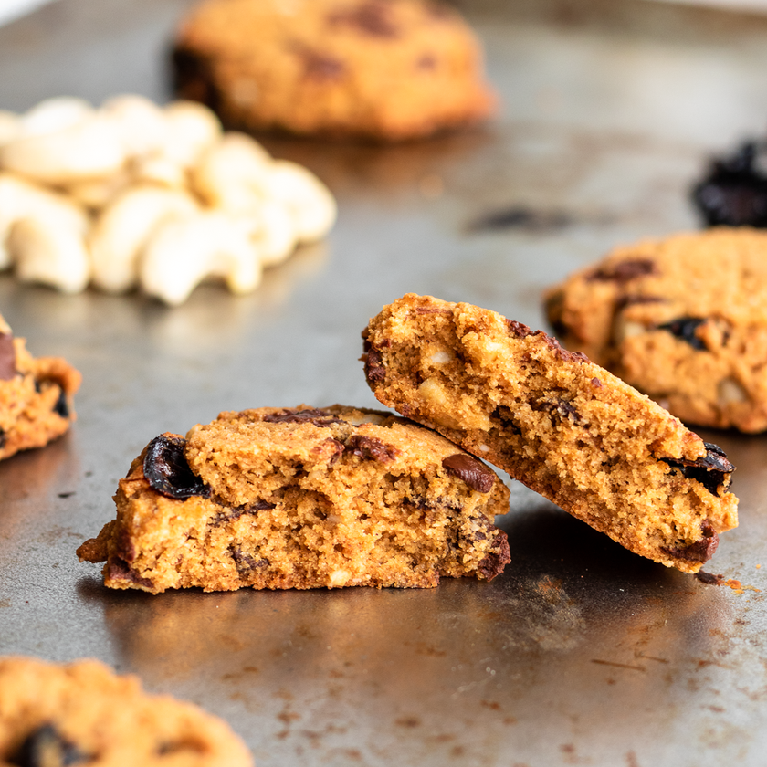 Paleo Trail Mix Cookies
