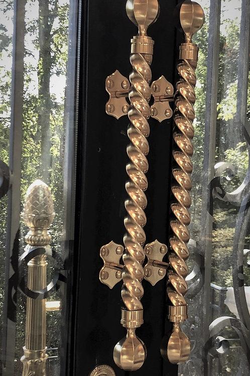 Brass Twist Pull Door Handle