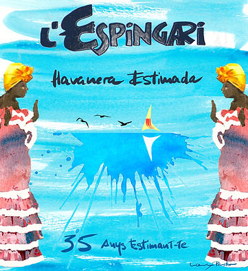 Portada CD Havanera estimada_espingari 2