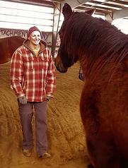 Kristi and horse - Spirit's Whisper Ranch