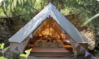 Glamping picture