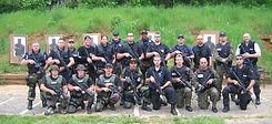 Kristi & Police class at range - Spirit's Whisper Ranch
