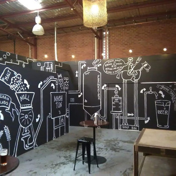 Interior artwork