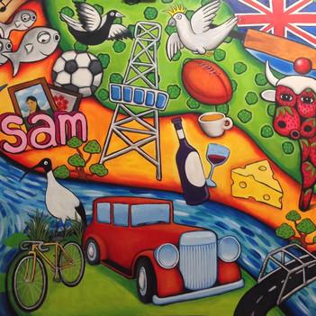 Shepparton Mural