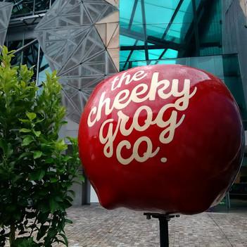 A cheeky apple