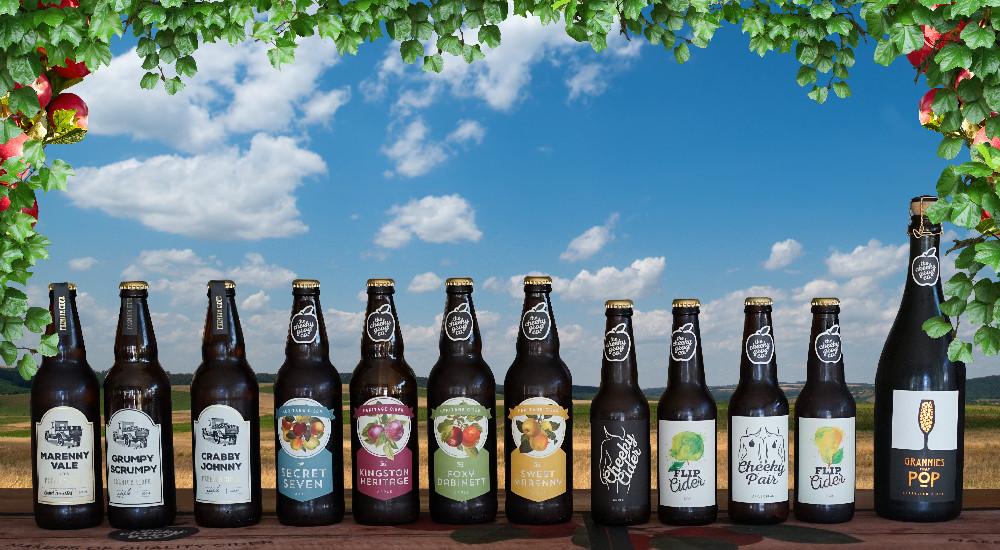 Cider range banner