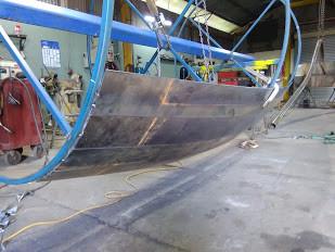 Barrel frame work