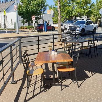 The Milkbar Outdoor Dining Barrrier