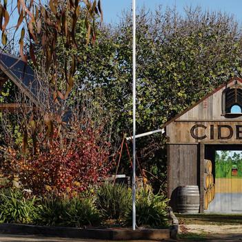Cider barn mural