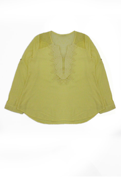 LACE NECK TOP 51CWT08-15