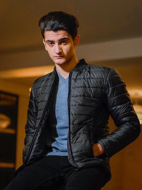 FW20MO23-01 DOWN COLLAR QUILTED JACKET