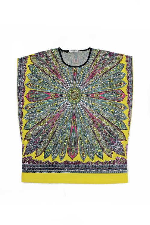 PRINTED TOP 61CWT02-15