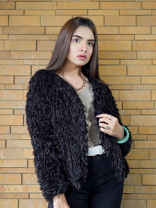 FW20TWO03-01 REAL FUR JACKET