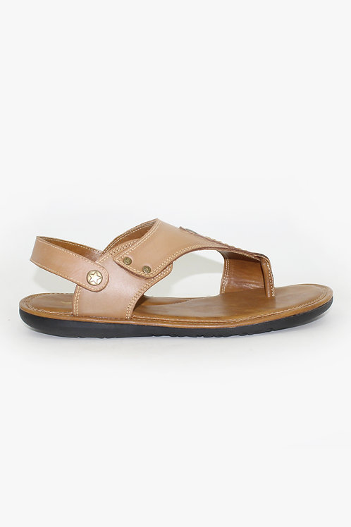 SS20HP09-51 TAN  MENS SANDAL