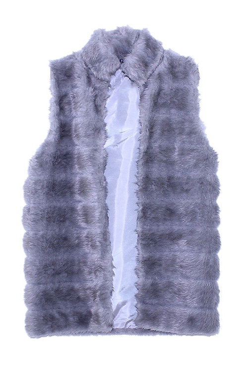 FW20TWO02-31  S/LESS FUR JACKET