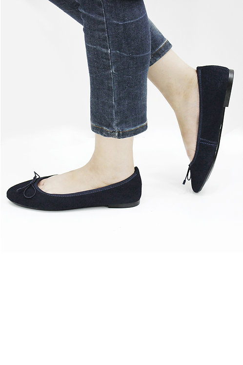 SUEDE LEATHER FLAT SHOESSS19FBL04-09
