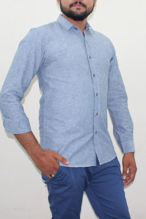 SS20MC02-31 D-GREY  CASUAL SHIRT