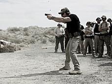 Handgun Class at the 2017 WSLEFIA