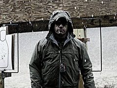 Cold, wet rain, Suffolk County NY