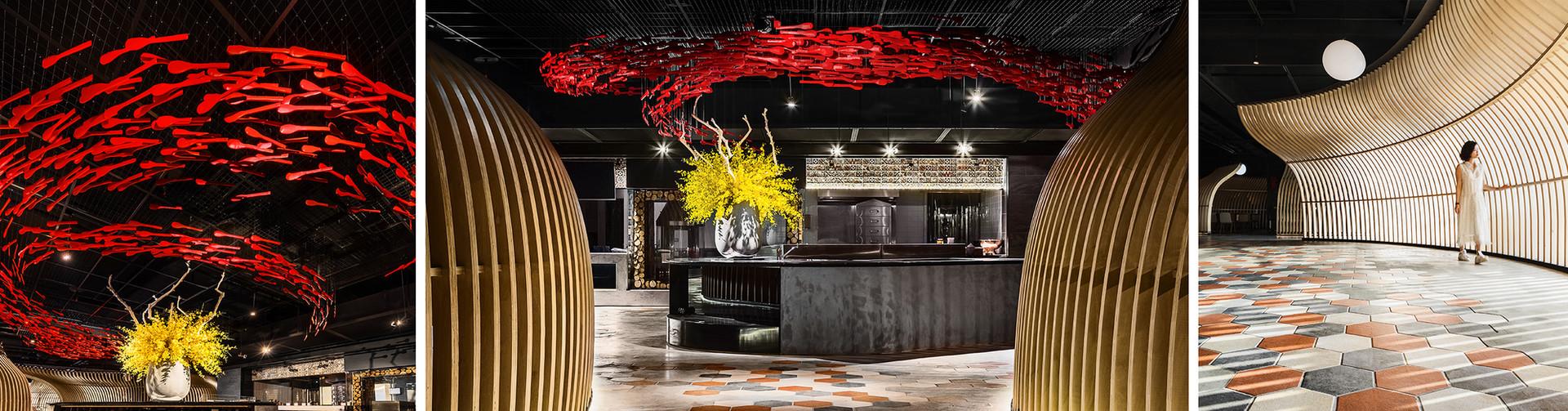 "9 Studio / Restaurant ""Hong Kong"""
