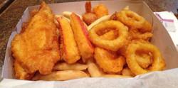 seafood sticks calamari