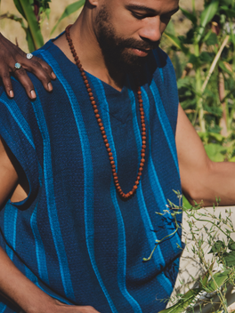 The Tunic an artisan-made fashion, eco-friendly clothing, Raanu Handwoven slow fashion design.