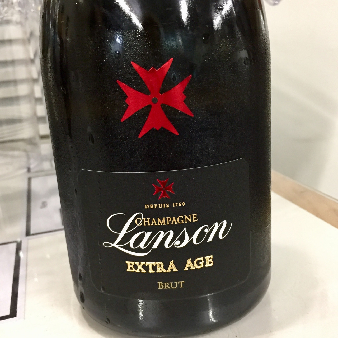 Lanson Extra Age and Leclerc Briant Champagnes
