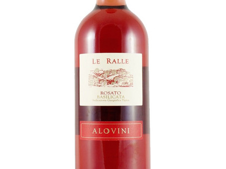 WINE OF THE WEEK: Alovini Le Ralle Basilicata Rosato 2017, Basilicata, Italy