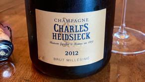 Heavenly Champagne from a Hellish Year: Charles Heidsieck Brut Millésimé 2012