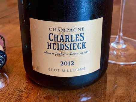 Heavenly Champagne from a Hellish Year: Charles Heidsieck Brut Millésimé 2012